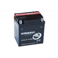 Аккумуляторы мото DYNAVOLT DTX30L-BS 30Ач
