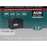 LANDPORT Аккумулятор AGM YTX24HL-BS