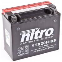 Аккумулятор мото YTX20СH-BS