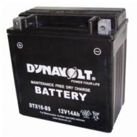 Аккумуляторы мото DYNAVOLT DTL20L-BS 18Ач