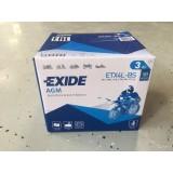 АККУМУЛЯТОР ETX4L-BS EXIDE