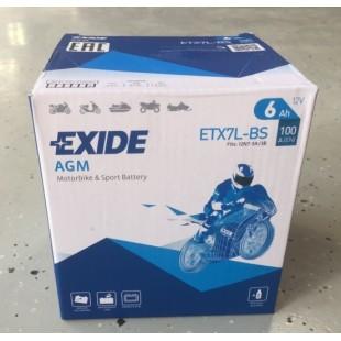 АККУМУЛЯТОР ETX7L-BS EXIDE