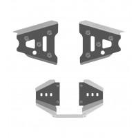 Защита передних рычагов + заднего редуктора