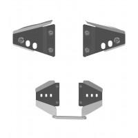 Защита передних рычагов + заднего редуктора для Can-Am (BRP) Renegade 800 (Рама G1)
