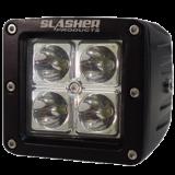 4-диодная фара с широконаправленным пучком света, 12W серии Trail Slasher