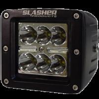 4-диодная фара с узконаправленным пучком света, 12W серии Trail Slasher